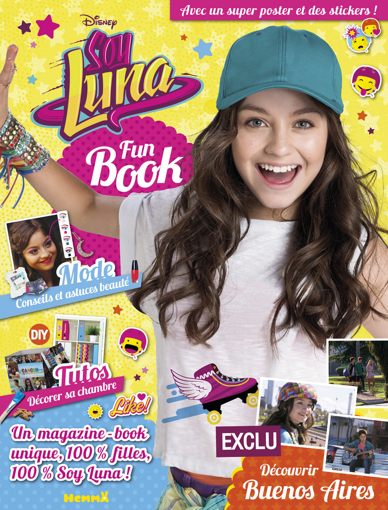 Disney Soy Luna - Fun Book