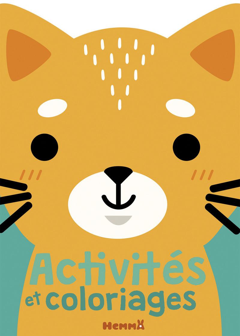 Activités et coloriages (chat)
