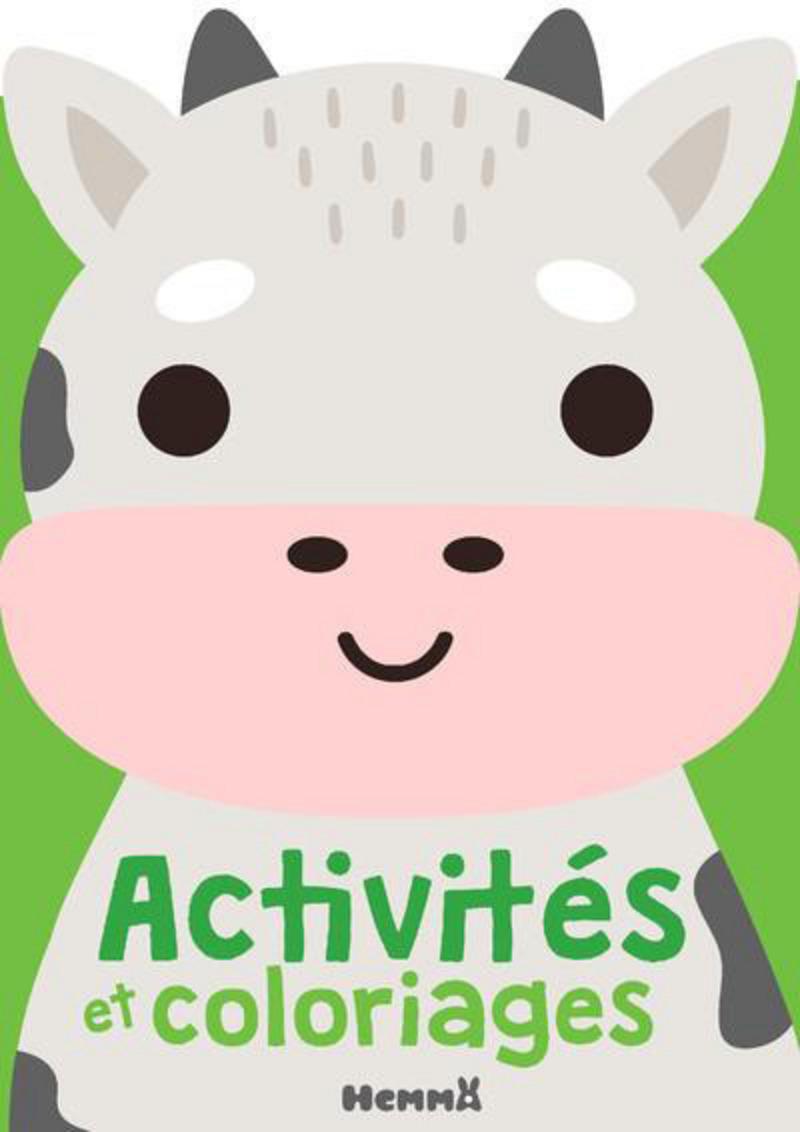 Activités et coloriages (vache)