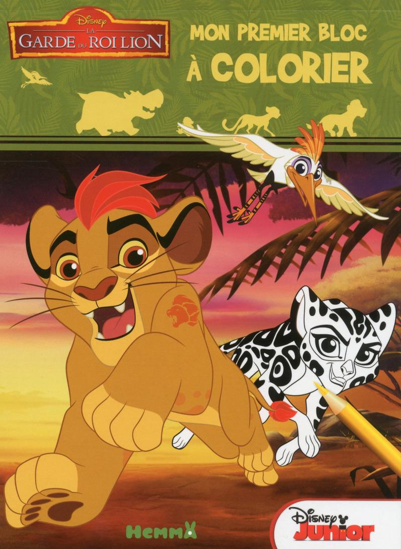 Disney - La Garde du Roi Lion - Mon premier bloc à colorier