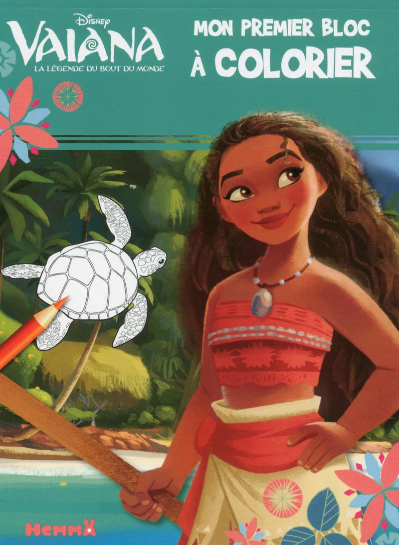 Disney Vaiana - Mon premier bloc à colorier