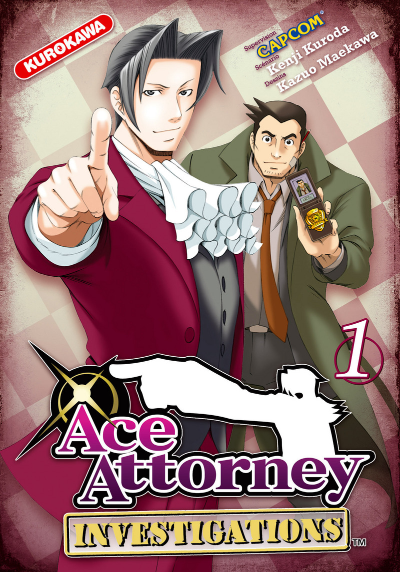 Ace Attorney Investigations dans manga 9782351426555