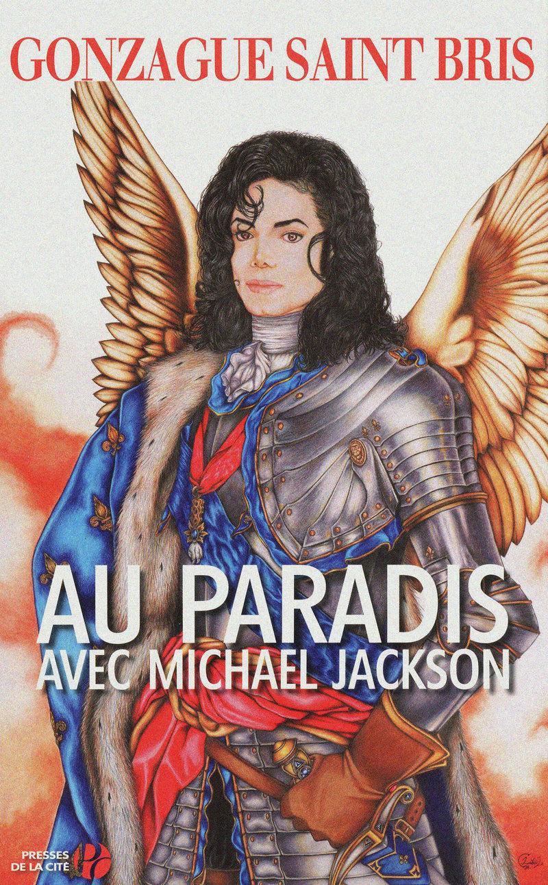 Couverture du livre Au paradis avec Michael Jackson