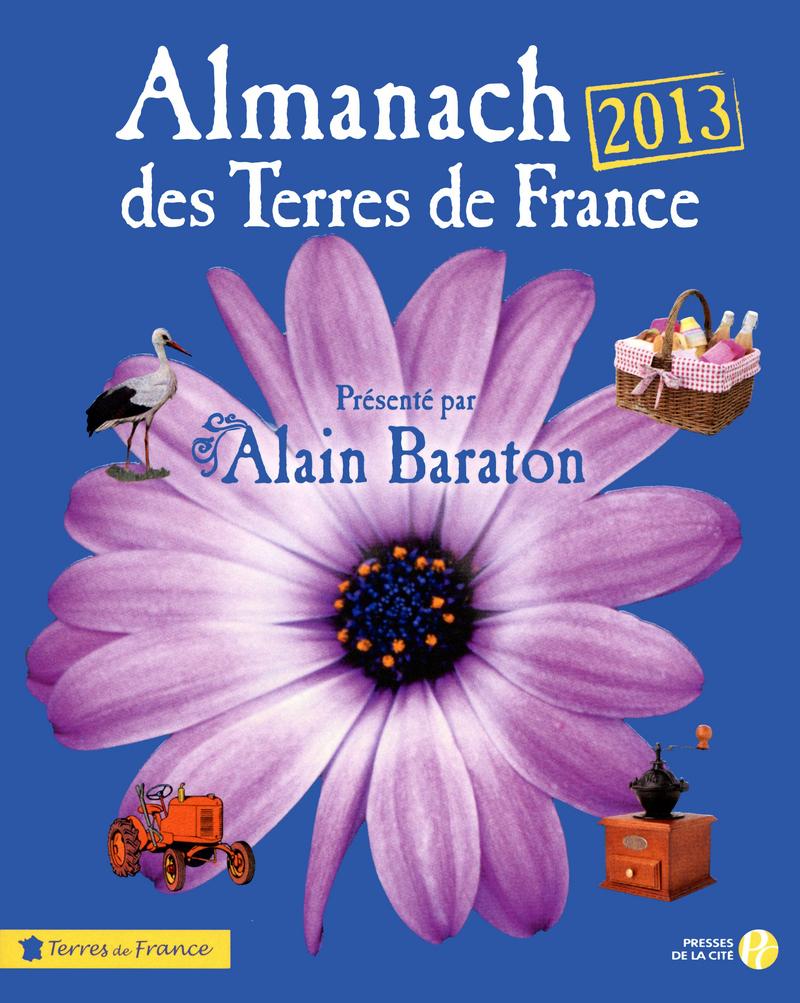 Couverture de l'ouvrage Almanach des Terres de France 2013