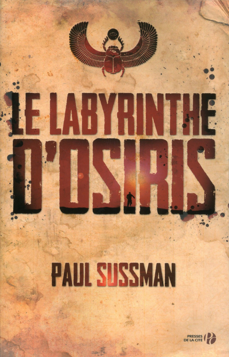 Couverture de l'ouvrage Le Labyrinthe d'Osiris