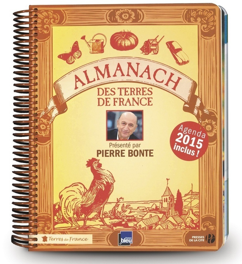 Couverture de l'ouvrage Almanach des Terres de France 2015