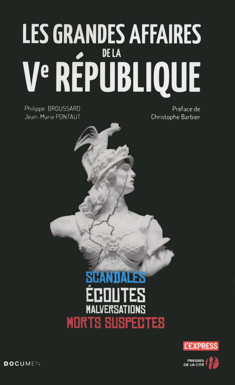 Couverture de l'ouvrage Les Grandes Affaires de la Ve République