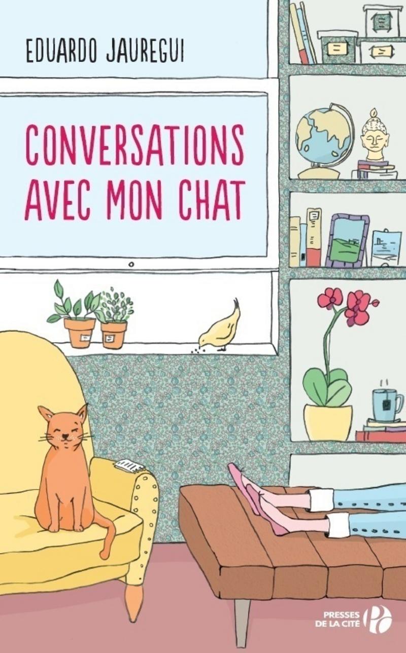 Couverture de l'ouvrage Conversations avec mon chat