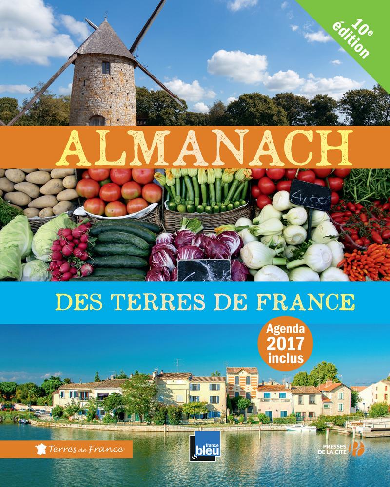 Couverture du livre Almanach des Terres de France 2017