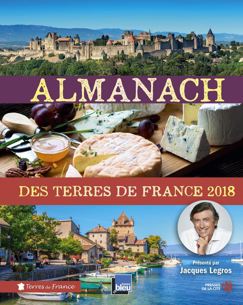 Couverture du livre Almanach des Terres de France 2018