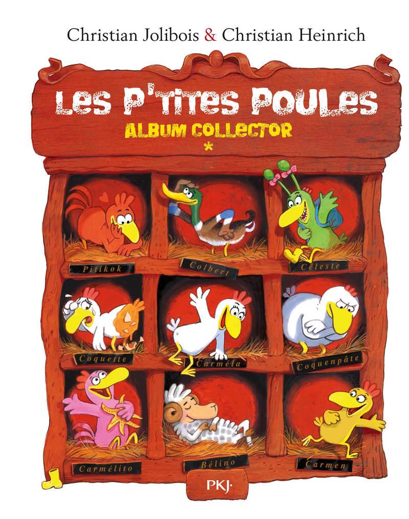 Les P'tites Poules – Album collector (Tomes 1 à 4)