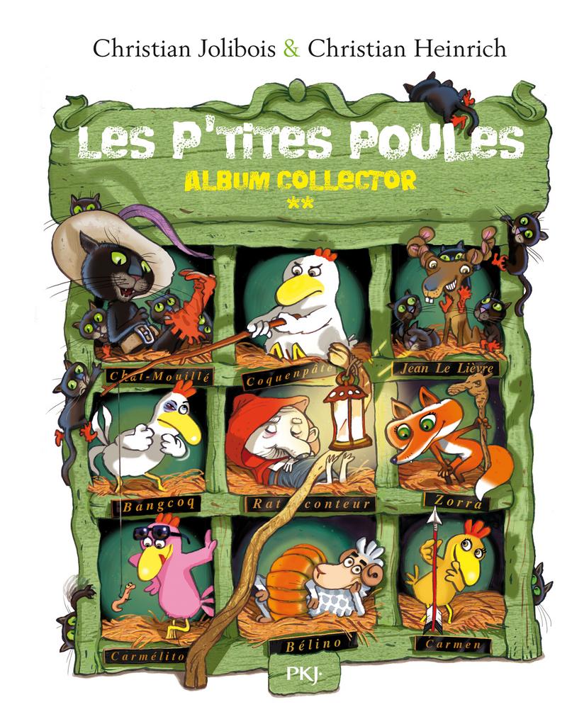 Les P'tites Poules – Album collector (Tomes 5 à 8)