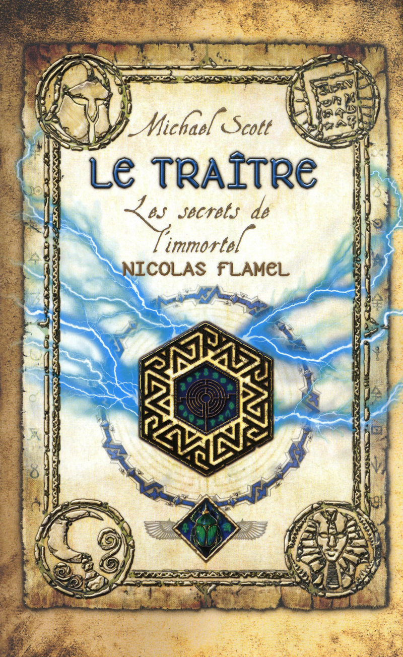 Les secrets de l'Immortel Nicolas Flamel - Michael Scott 9782266223706