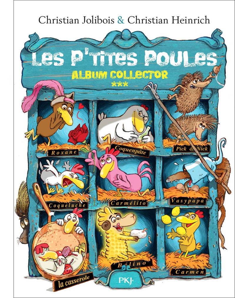 Les P'tites Poules – Album collector (Tomes 9 à 12)
