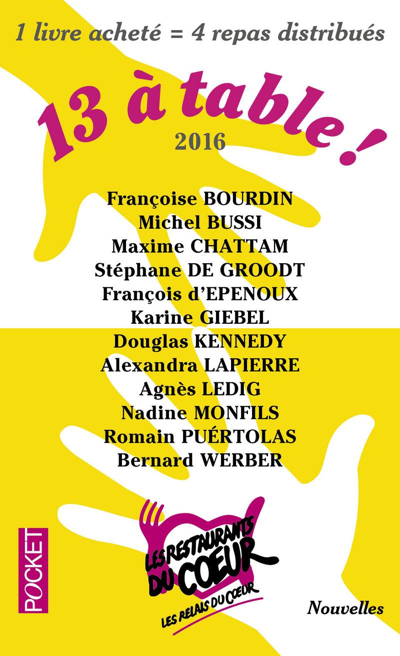 13 à table - Edition 2016