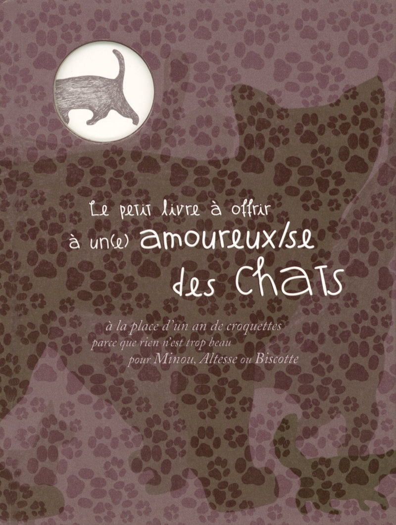 Le petit livre à offrir à un amoureux des chats