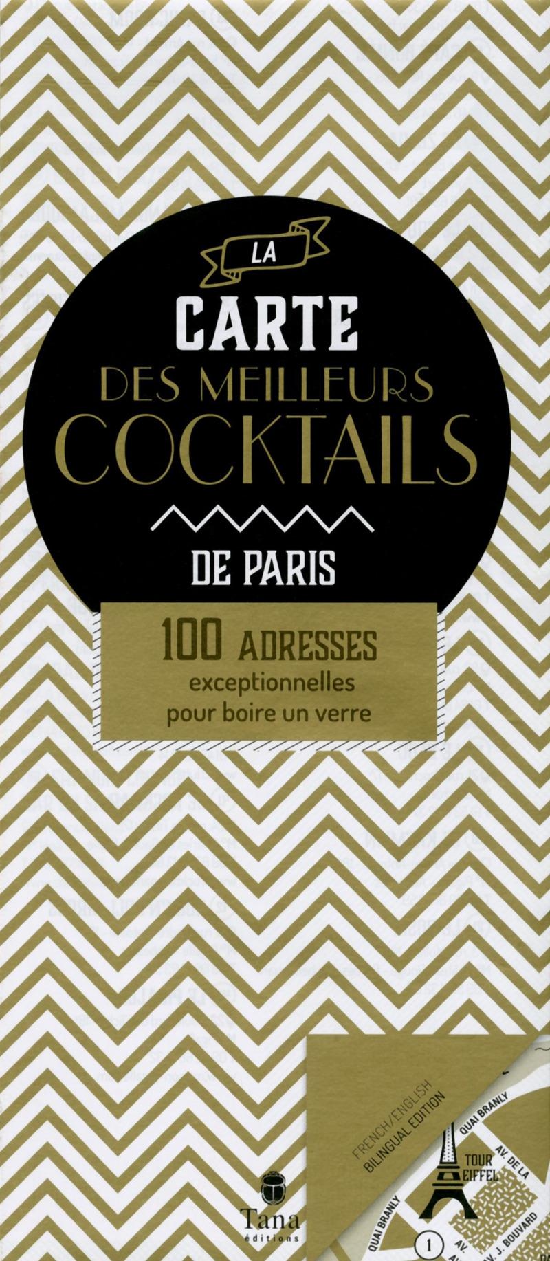 La carte des meilleurs cocktails de Paris