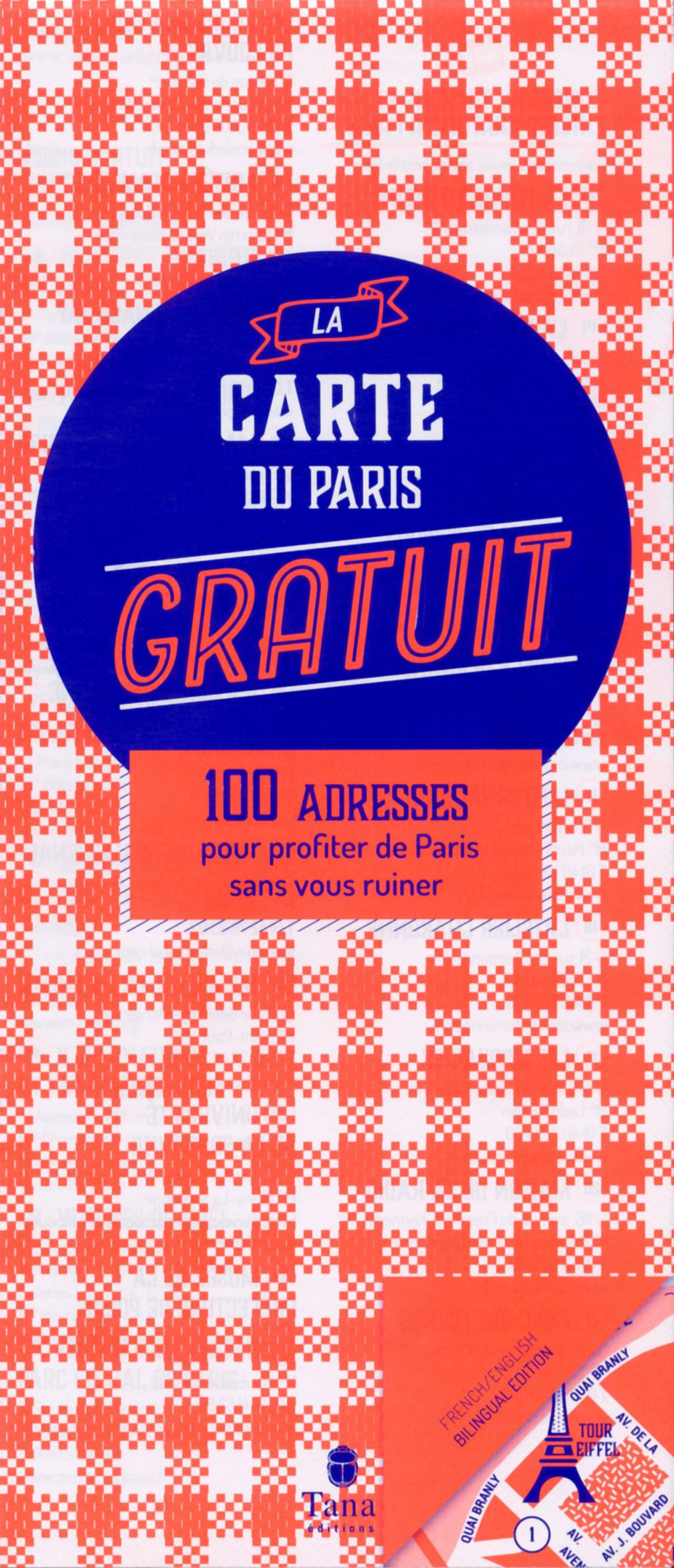 La carte du Paris gratuit