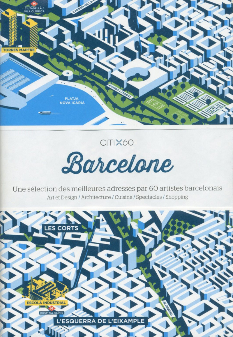 City Maps - Barcelone