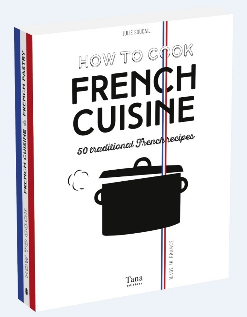 Coffret How to cook french cuisine - 100 traditional French recipes