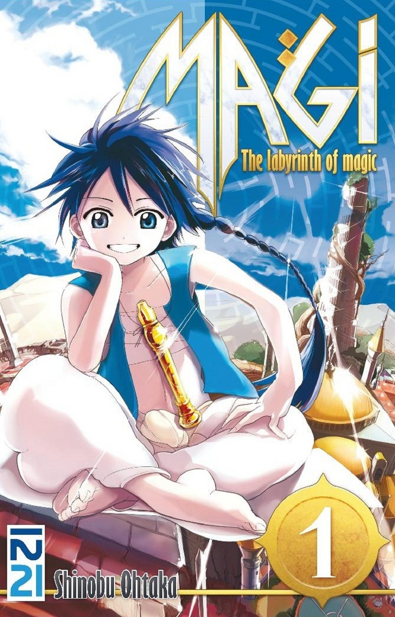 MAGI - TOME 01 - Shinobu OHTAKA