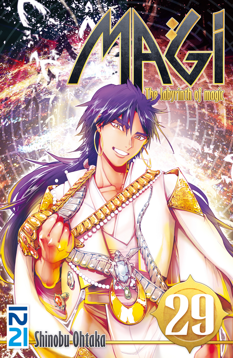 MAGI - THE LABYRINTH OF MAGIC - TOME 29 - Shinobu OHTAKA