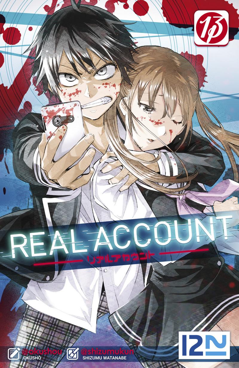 REAL ACCOUNT - TOME 13 - OKUSHÔ,Shizumu WATANABE