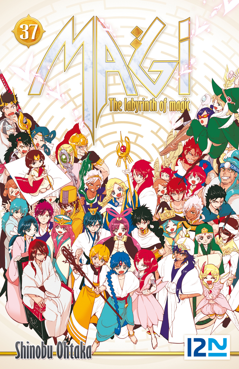 MAGI - THE LABYRINTH OF MAGIC - TOME 37 - Shinobu OHTAKA