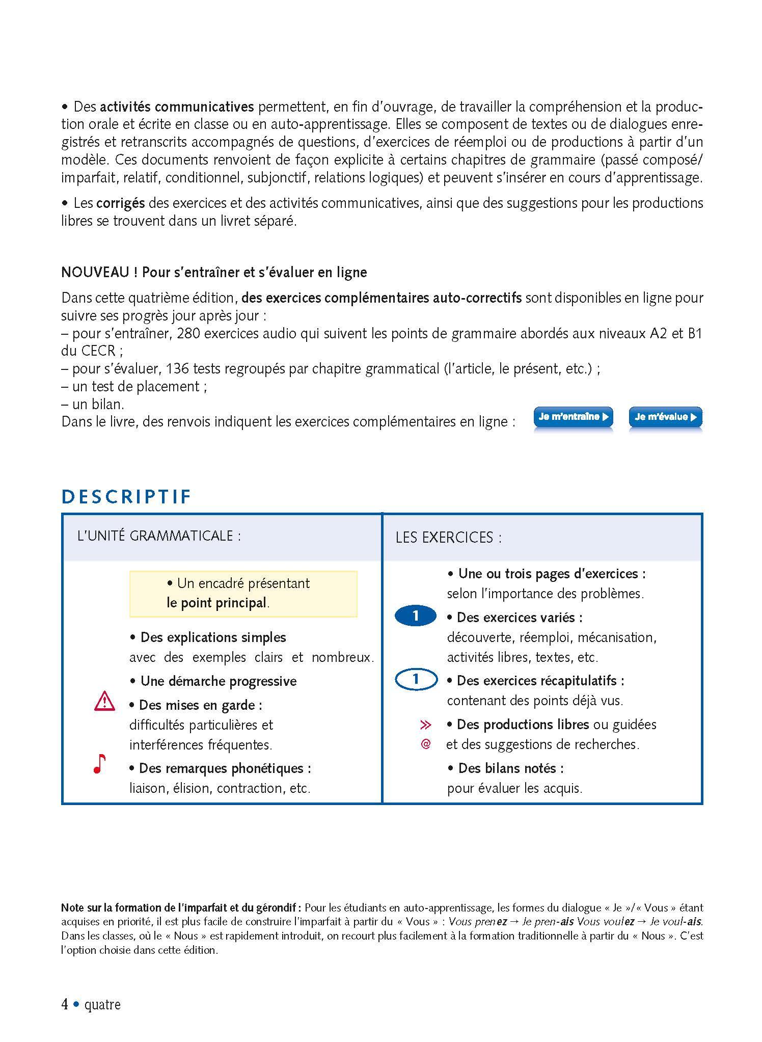 Grammaire Progressive Du Francais Niveau Intermediaire