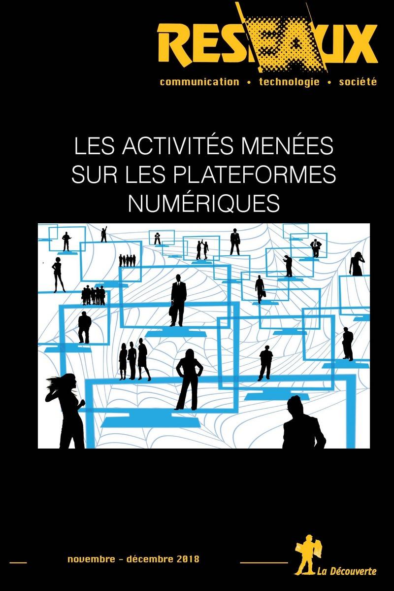 Les activités menées sur les plateformes numériques