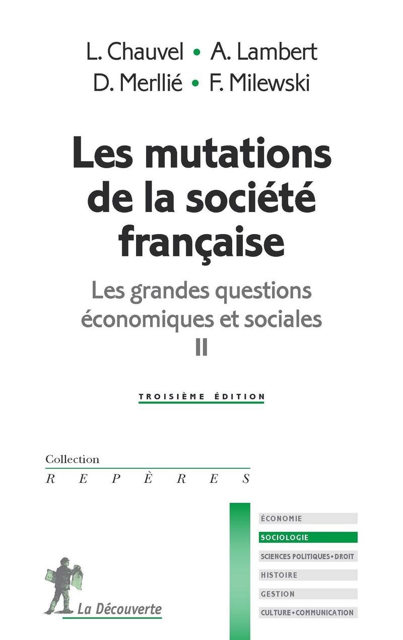 Les mutations de la société française