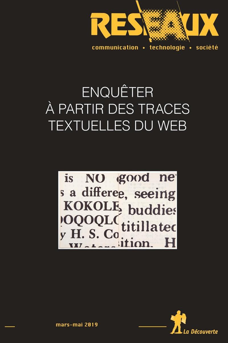 Enquêter à partir des traces textuelles du web