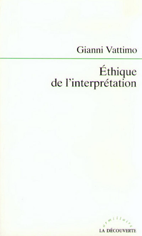 Éthique de l'interprétation