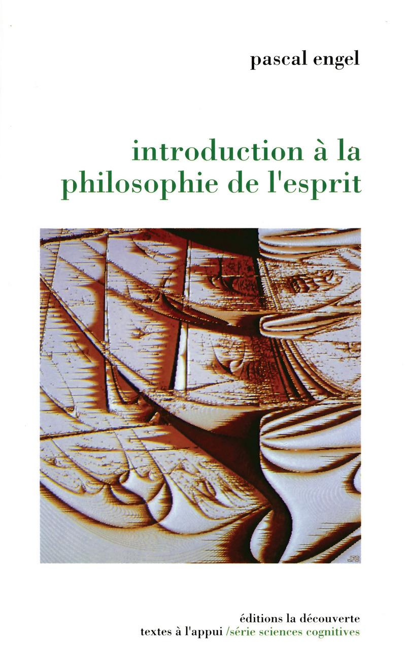 Introduction à la philosophie de l'esprit