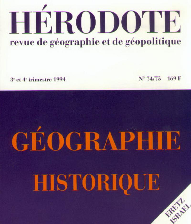 Géographie historique