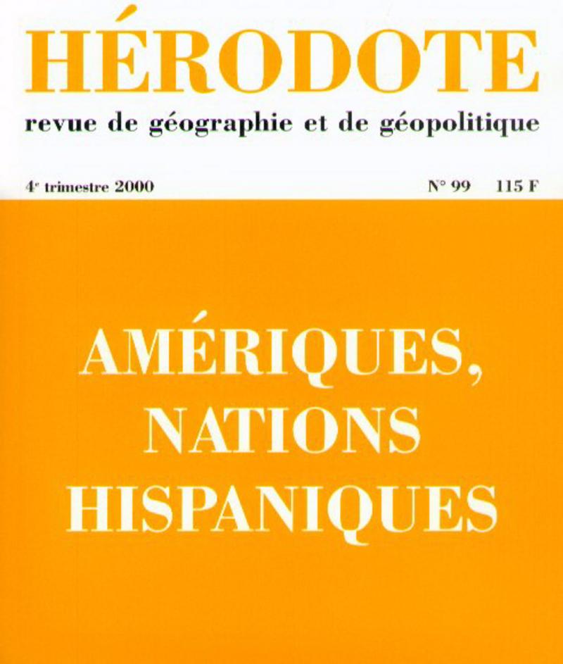 Amériques, nations hispaniques