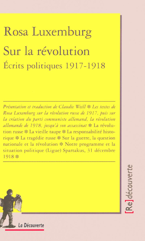 Sur la révolution