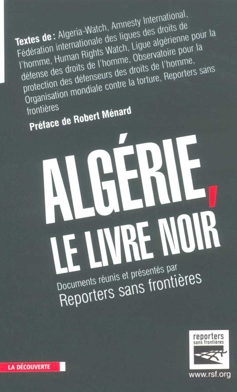 Algérie, le livre noir