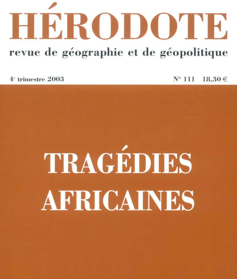 Tragédies africaines