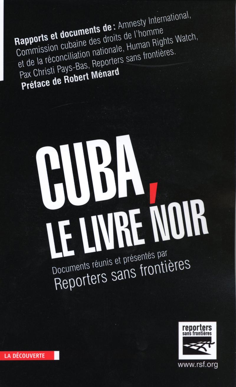 Cuba, le livre noir