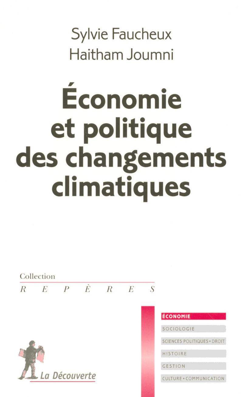 Économie et politique des changements climatiques