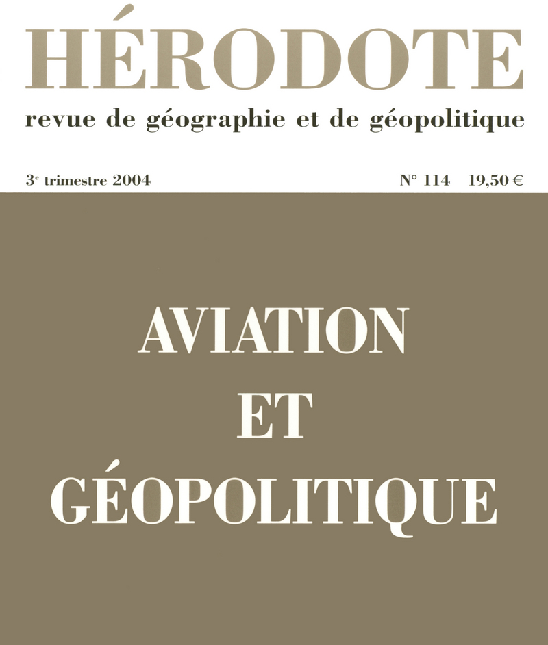 Aviation et géopolitique