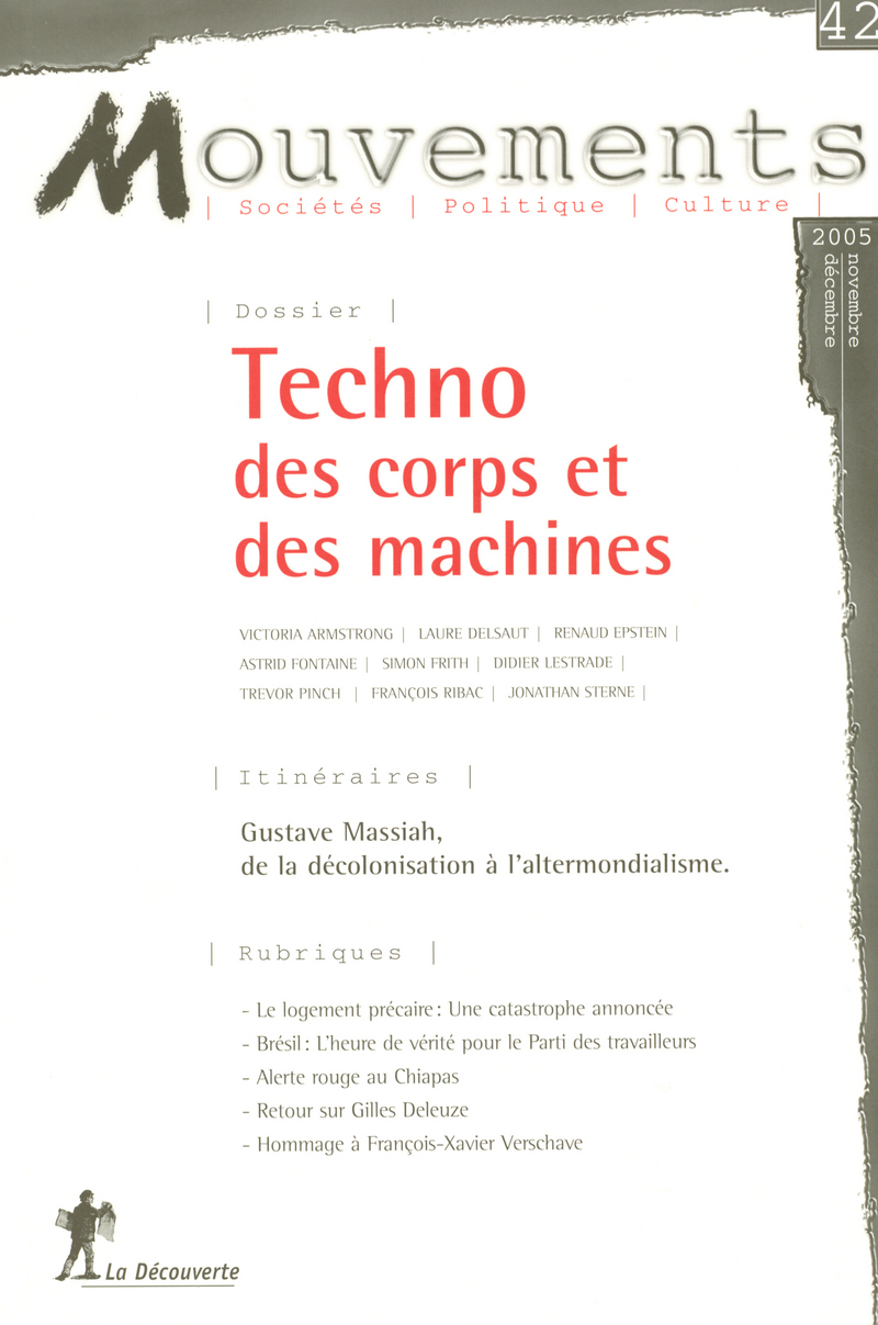 Techno des corps et des machines