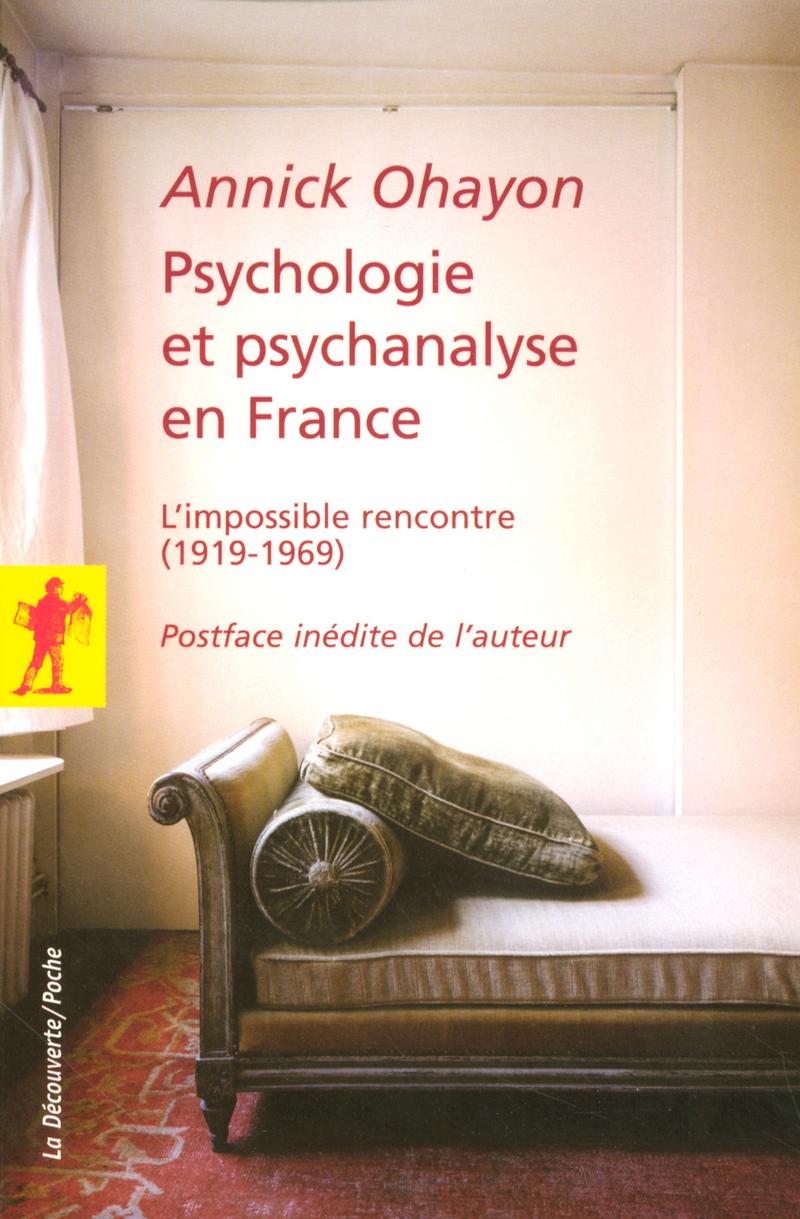 Psychologie et psychanalyse en France