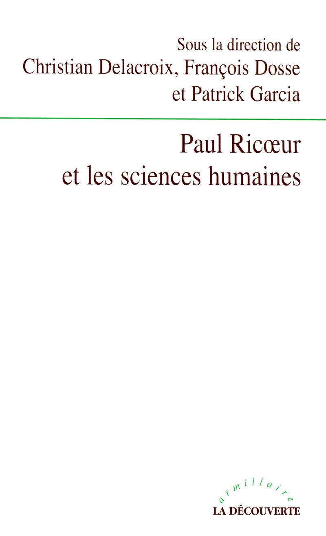 Paul Ricœur et les sciences humaines