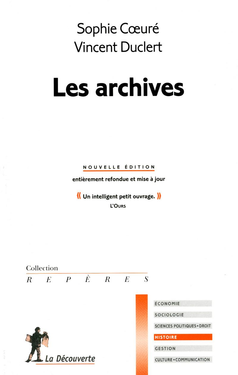 Les archives