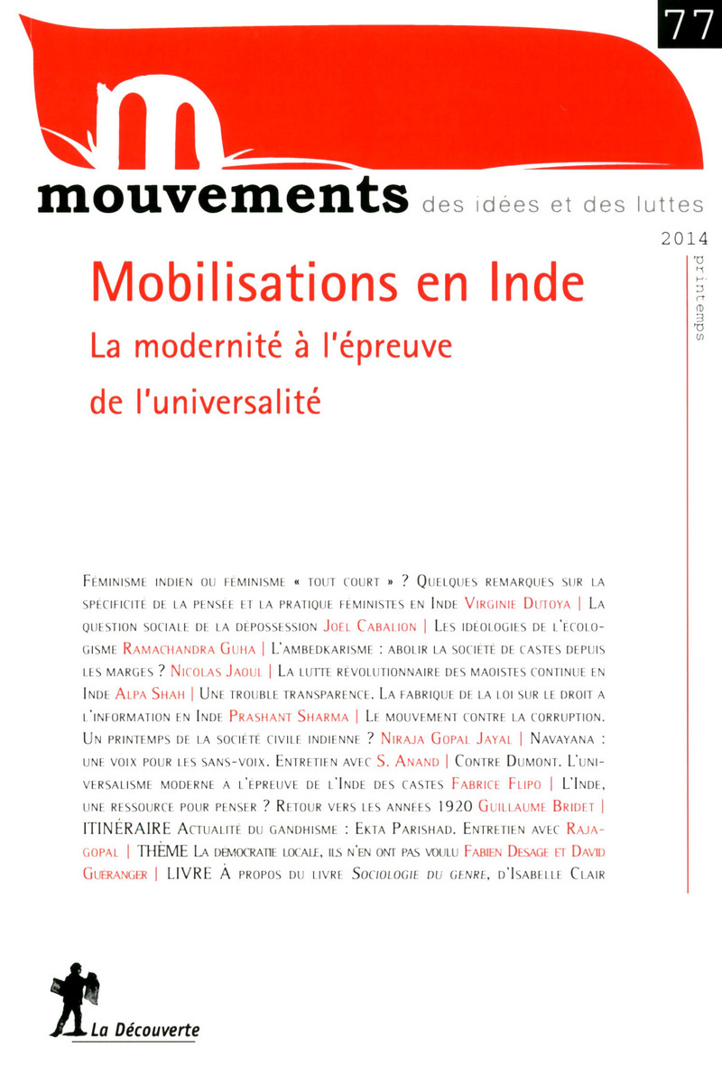 Mobilisations en Inde