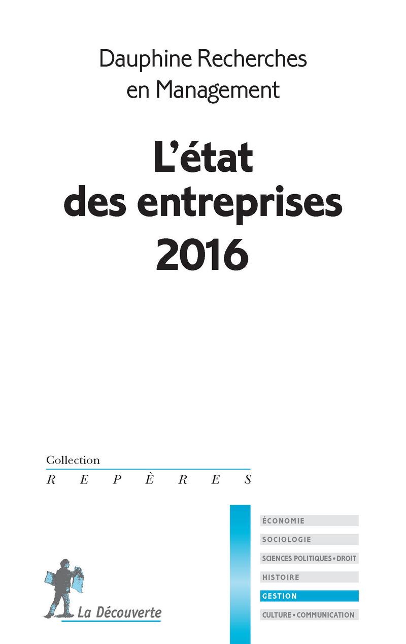 L'état des entreprises 2016