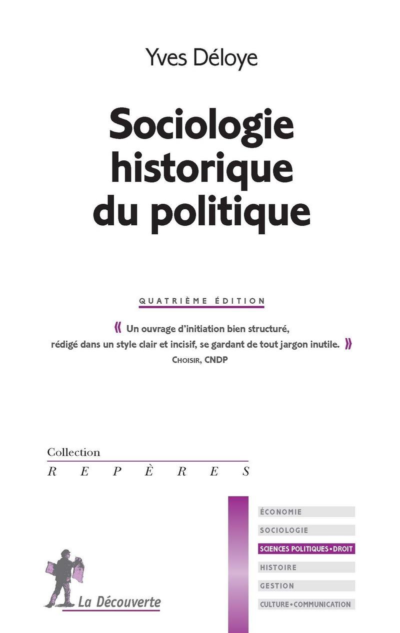 Sociologie historique du politique